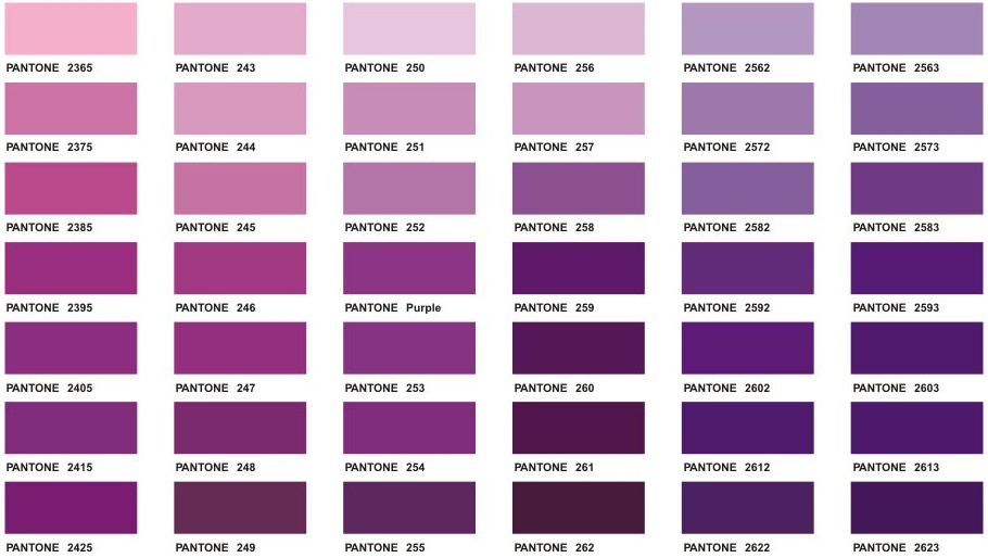 Maroon Color Chart Ibovnathandedecker